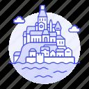 architecture, cornwall, england, landmarks, michael, mount, national, saint, st, symbol, uk icon