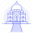 national, architecture, mahal, landmarks, taj, agra, symbol, india