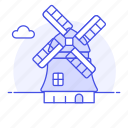 windmills, national, architecture, structure, landmarks, construction, netherland, symbol icon