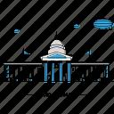 architecture, building, capital, landmark, monument, oklahoma, state icon