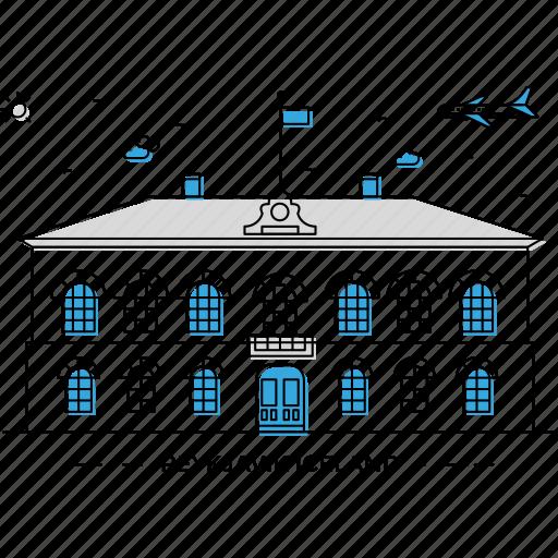 building, capital, iceland, landmark, monument, reykjavik, state icon