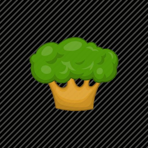 cartoon, environment, green, natural, nature, plant, tree icon