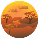 nature, garden, environment, plants, trees, desert icon