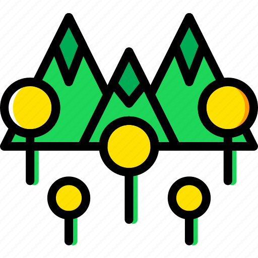 Landscape, mountainside, nature, picture icon - Download on Iconfinder