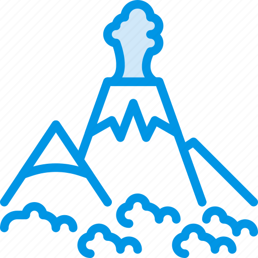 Island, landscape, nature, picture, volcano icon - Download on Iconfinder