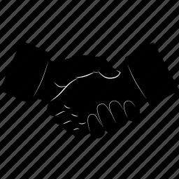contractors, deal, hands, handshake icon