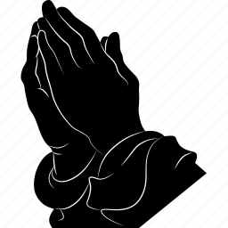 pray, request, seccade, solicit icon