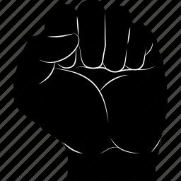 counter, gestureworks, strike, stroke icon