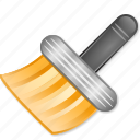 brush, clean, cleaning, clear, paint icon