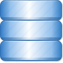 bigdata, computing, data storage, database server, db, rack, repository icon
