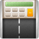 calculate, calculator, delivery, road, shipment, shipping, transportation icon