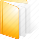 archive, directory, docs, documents, files, folder, paper icon
