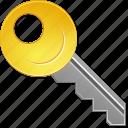 access key, login, open, password, secret, security, unlock icon