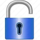 open lock, password, safety, secret, secure, security, unlock icon