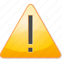 alert, attention, error, exclamation, out of service, problem, warning icon
