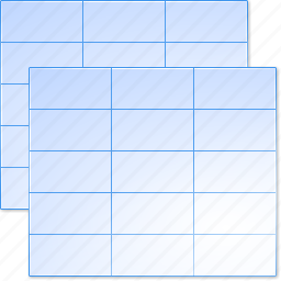 chart, data sheets, document, menu, plan, schedule, tables icon