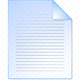blanc, blank, document, file, paper, report, text icon