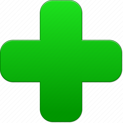 add green cross health hospital medical symbol new plus icon