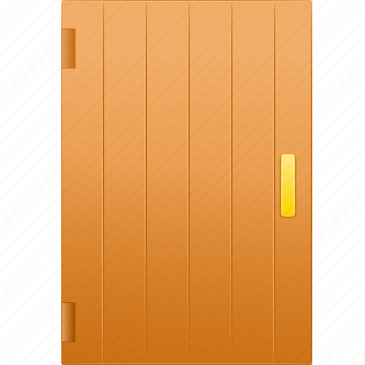 closed door, doorway, entrance, exit, front, no entry, restricted icon