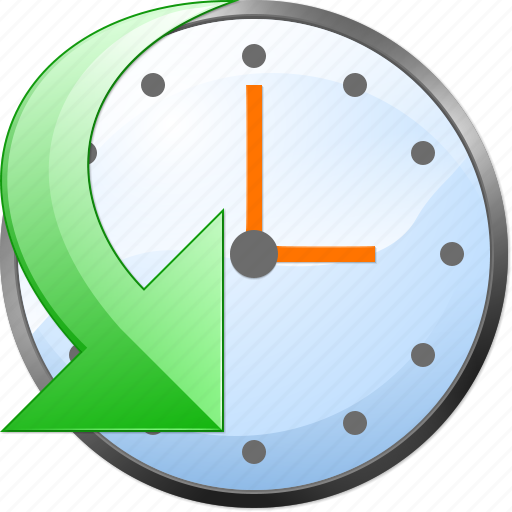 calendar, clock, event, history, schedule, time, undo icon