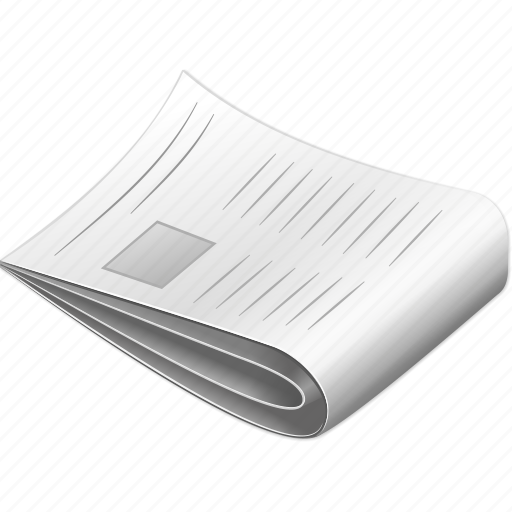 article, journal, magazine, new information, news, newspaper, publication icon