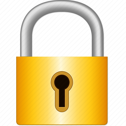 locked password private protection safe safety lock secure icon
