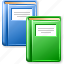 books, bookstore, documents, education, knowledge, library, office archive icon