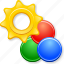 color balance, colour profile, desugn, graphic design, paint, painting, settings icon