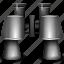 binocular, binoculars, find, search, spy glasses, view, zoom icon