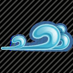 cold, wind icon