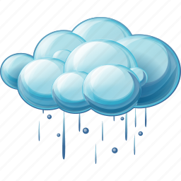 cloud, heavy, rain icon