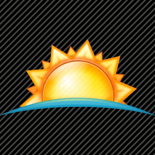 dawn, sun icon