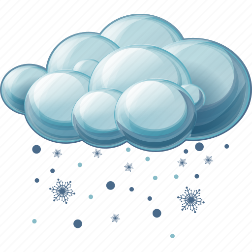 cloud, heavy, sleet, snow icon