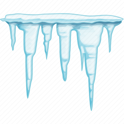 cold, ice, icicles icon