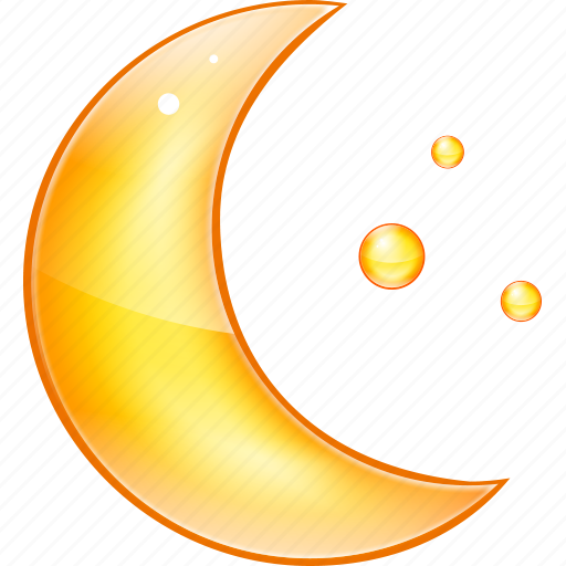 mid night, midnight, moon, night, stars icon