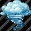 giant, storm, tornado icon