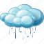 heavy, rain, cloud