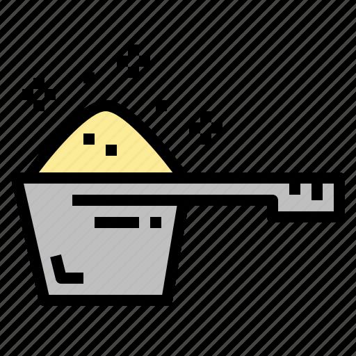 detergent, laundry, scoop, washing icon