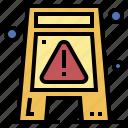 construction, floor, signaling, warning, wet
