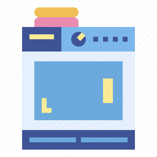 Clothes, dryer, electronic, machine icon - Download on Iconfinder