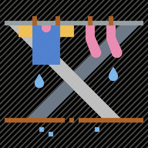 drying, laundry, shirt, wash icon