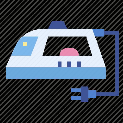 electronic, furniture, ironing, laundry icon