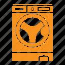 clean, laundry, washing machine, washing icon