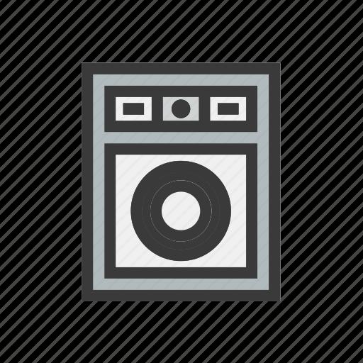 clean, cleaner, laundry, wash, washing machine icon