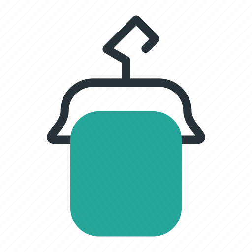Clothes, hanger, laundry, towel icon - Download on Iconfinder