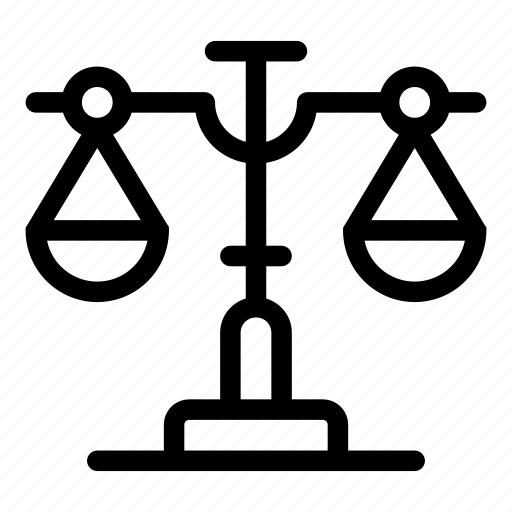 balance, balanced, judge, justice, law, libra, zodiac icon