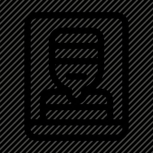 Criminal, jail, murderer, offence, prison, prisoner, user icon - Download on Iconfinder
