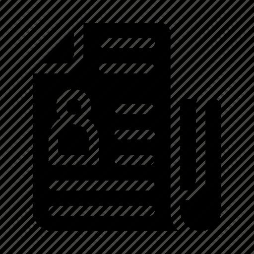 Bulletin, journal, magazine, news, news report, newspaper, press icon - Download on Iconfinder