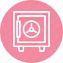 locker, safe, security, vault icon