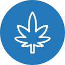 cannabis, leaf, marijuana, plant icon